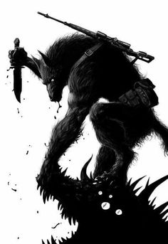 Werewolf (artist unknown)                                                                                                                                                      Mehr