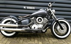 Bobber Yamaha Dragstar 1100 nice look. seat a little too then