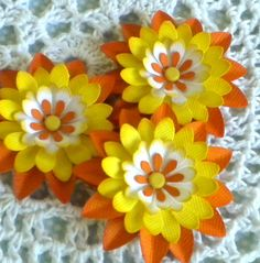 Hey, I found this really awesome Etsy listing at https://www.etsy.com/listing/75045970/sweet-sunflower-shaded-flowers-set-of-3