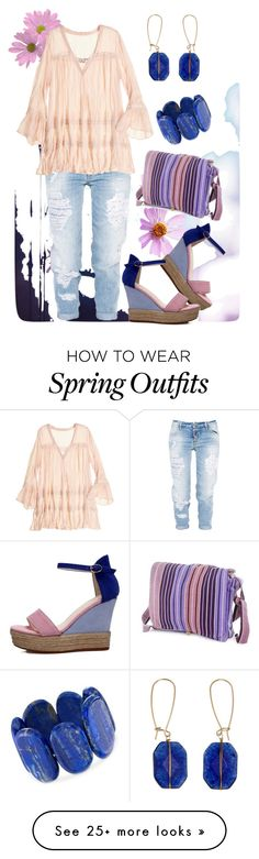 """""""Summer color combination outfit"""" by thalsali on Polyvore featuring Dsquared2, NOVICA, Ross-Simons and Calypso St. Barth"""