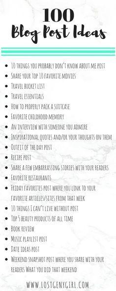 100 Lifestyle Blog P