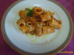 Paccheri con ragù di verdure e seitan  #ricette #food #recipes