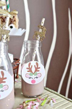 reindeer winter playdate party ideas - Christmas Ideas Pinterest