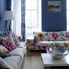 Anya fabric from Bluebellgray.com. A Scottish textile design company.