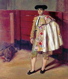 El Torero by José María López Mezquita (Spanish 1883 - 1954)