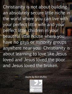 Love like Jesus loved