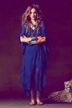 Indigo Vibes  #freepeople #blue #maxidress