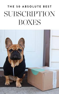 The 50 Best Subscription Boxes via @PureWow via @PureWow