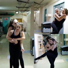 Awww Maddie and Mackenzie Dance Moms Dancers, Dance Mums, Dance Moms Girls, Maddie And Mackenzie, Mackenzie Ziegler, Girl Celebrities, Celebs, Dance Moms Comics, Waltz Dance