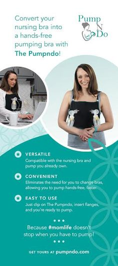 How do pump your milk ? Pumping moms are busy enough - Don't waste time with a cumbersome DIY option or changing bras - Pump #handsfree faster with the bra you already own! Mom invented and made in the USA, Pumpndo allows you to pump and still do things! #beauty #naturaful #women