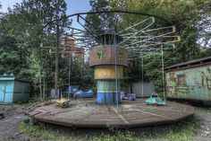 grandeur must be abandoned to be appreciated ― blaise #pascal | #abandoned amusement park #5 | st. #petersburg, #russia