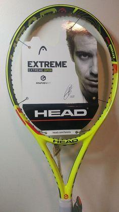 ddf115d64ed HEAD Graphene Extreme PRO Tennis Racquet Racket 4 3 8 Last 1! Raqueta De
