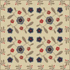 Rambling Rose - another great quilt from Laurie Simpson