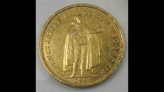 Austria Hungary 20 Korona 1905 Gold Gold Coins, Hungary, Austria, Coins, Money