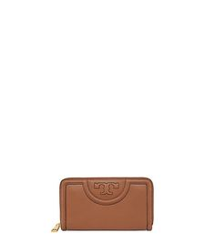 Tory Burch Serif-t Zip Continental Wallet