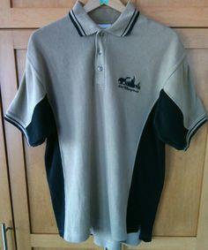 Polo Shirt Walt Disney World Embroidered Size M Short Sleeve Sports Golf Casual  | eBay