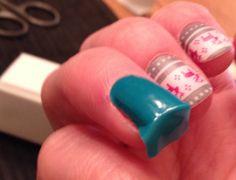 Beginner Nail Art Guide | Folding back the nail wrap