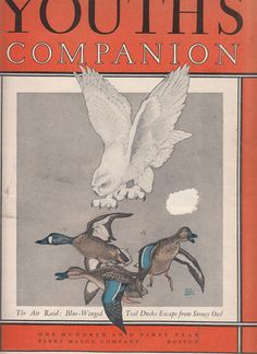 November 1927 Youth's Companion Magazine Stories Articles Can Your Dog Talk Crown Jewels