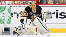 Goalie Marc-Andre Fleury will start Game 2 of the Eastern Conference First Round for the Pittsburgh Penguins against the Columbus Blue Jackets