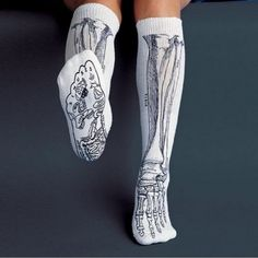 The skeletal structure of the foot does not bother me. I like these socks. :)