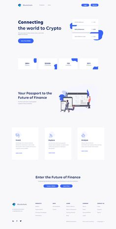 Hello Creative People Blockchain UI redesign Landing page. Please have a look at the attachment and Inspire me by leaving a comment. Website Design Inspiration, Website Design Layout, Web Layout, Layout Design, Page Design, Website Designs, Form Design Web, Flat Web Design, Creative Web Design