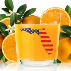 We always give it 100%…100% Florida oranges for 100% American orange juice!