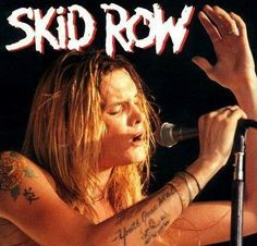 Sebastian Bach, Musical Hair, Skid Row, Music Pics, Rock Of Ages, Band Pictures, Rock Groups, Black Sabbath, Concert Posters