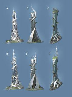 Concept Architecture, Futuristic Architecture, Amazing Architecture, Architecture Design, Futuristic City, Futuristic Technology, Sci Fi City, Eco City, Future Buildings