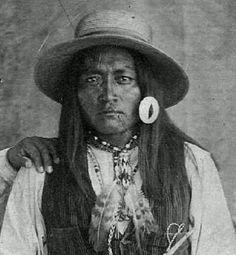 Tonto Apache man - no date