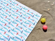 Beach towel for kids Crabs, Lobsters, Baby Towel, Terry Towel, Summer Patterns, Waterproof Fabric, Soft Dolls, Cotton Towels, Summer Kids