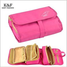 Useful Travel Hanging Cosmetic Bag In Bag Oxford Hanging Make Up Organizer Toiletry Holder Beauty Wash Bag Green Rose Colors - July 27 2019 at Green Rose, Green Bag, Hanging Cosmetic Bag, Bag In Bag, Cute Pencil Case, Make Up Organizer, Cute School Supplies, Wash Bags, Bag Organization
