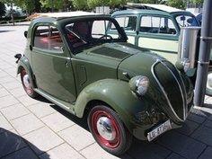 1937-1948 modelos A y B de FIAT 500