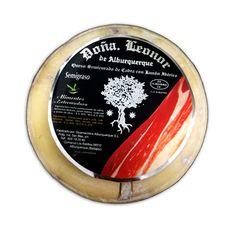 queso de cabra con jamón ibérico