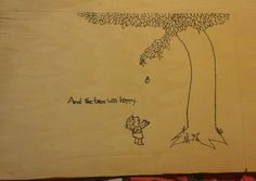 Almost done with the bday gift for my mother in-law. She loved The Giving Tree as a kid and I thought this would be a great idea as a gift. It will end up looking like a frame. I still need to cut it.
