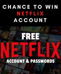 Get a FREE Netflix premium account The best way to get a FREE Netflix Account with username E-mail and password 2021 Updated every day ☑️ INSTRUCTIONS - Click the link - Follow All the steps (complete one offer) - Prepare Your popcorn Netflix Account And Password, Netflix Gift Card, Netflix Premium, Netflix And Chill, Netflix Originals, Netflix Movies, Zootopia, Accounting, Username