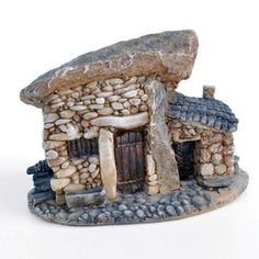 Troll House with Firewood Pile