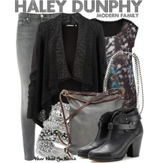 Inspired by Sarah Hyland as Haley Dunphy on Modern Family - Shopping info!