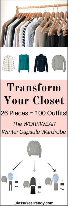 Workwear Capsule Wardrobe e-book- Winter 2017