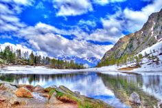 Arpy Lake View jigsaw puzzle in Great Sightings puzzles on TheJigsawPuzzles.com