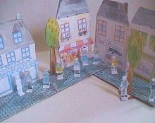 La Rue du commerce, maisons à imprimer