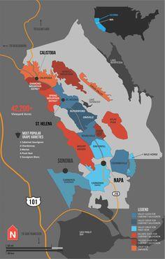 "[Map] ""Napa Valley Wine Map, California (USA)"" Dec-2012 by Winefolly.com"