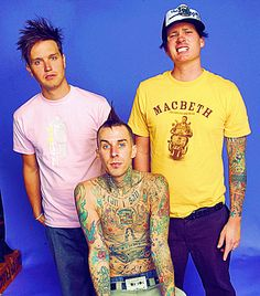 """Were not stars.... were all just dorks in a band"" - Mark Hoppus BLINK 182 <3"