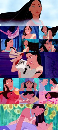 Pocahontas: One of my favorite Disney movies! I can still sing all the songs :D
