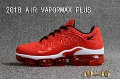 fbe75a5769066 Nike Air VaporMax KPU Red White Men s Running Shoes