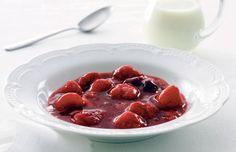 Opskrift på Jordbærgrød fra - Hjemmet