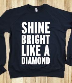 Alpha Delta Pi Sweatshirt - Shine Bright Like A Diamond Click here to purchase :)