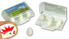 Como fazer caixa de ovos em miniatura para boneca - Faça você mesmo