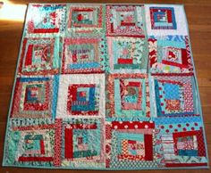 fun quilt, love the colors