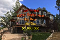 New Listing in Big Bear - Beautiful 6b 5ba Mansion on the Lake - http://itz-sold.com/new-listing-big-bear-amazing-6b-5ba-mansion-lake/ http://itz-sold.com/wp-content/uploads/2017/10/Eagles_Nest_150.jpg   New Listing in Big Bear, right on the lake with a private boat slip! The only gated community in Big Bear, Great Mountain and Lake and view of surrounding hills and forest during all seasons! Highly desirable Eagle Knoll Estates with Big Bear Lake access right. This beautiful