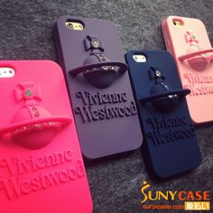 ヴィヴィアン・ウエストウッド iPhone6plusケース シリコン製 Vivienne Westwood iPhone5sケース 可愛い ファッションブランド iPhoneSEケース 安い